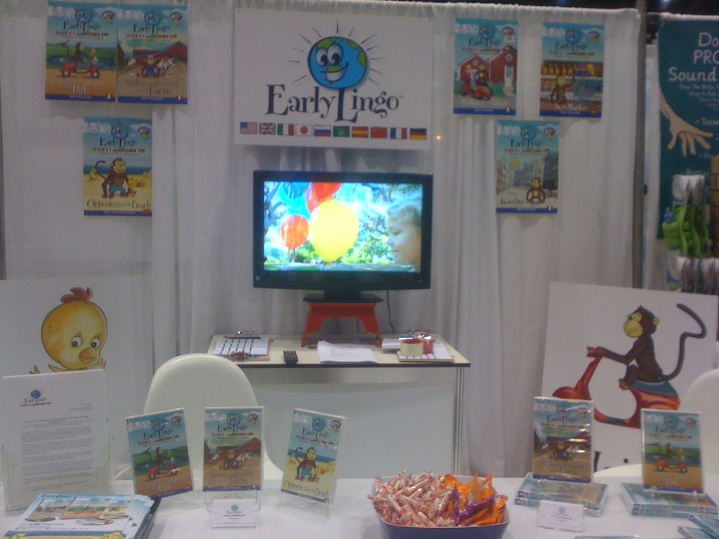 Early Lingo Booth at ABC Kid's Show